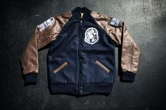 Billionaire Boys Club - MMX111 Varsity Jacket Navy