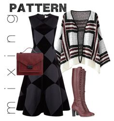 """Patterns #4"" by jdee77 on Polyvore featuring Roksanda, Alberta Ferretti and Loeffler Randall"
