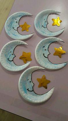 Imagem – Educação Infantil – Aluno On Kids Crafts, Ramadan Crafts, Daycare Crafts, Space Crafts, Summer Crafts, Toddler Crafts, Arts And Crafts, Paper Plate Crafts, Preschool Crafts