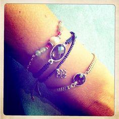 gems bracelets from L'Oliphant Bracelets de pierres fines l'Oliphant  www.oliphant-bijoux.fr