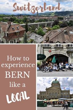 Find out how to experience Bern like a local in the summer. Read this post for information on where the locals hang out and how they spend a perfect day. Europe Travel Guide, Europe Destinations, Travel Guides, Switzerland Summer, Visit Switzerland, Switzerland Itinerary, Like A Local, Ultimate Travel, European Travel