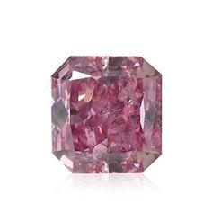 0.40Cts Argyle Fancy Intense Purplish Pink Loose Diamond Natural Color GIA