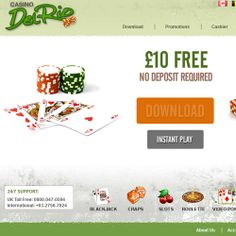 Play Online Casino Del Rio – No deposit required