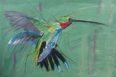 Male hummingbird
