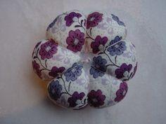 Pique-aiguilles fleur ( 3 tutos ).