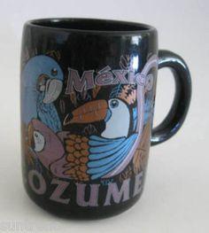 Cozumel MEXICO Toucan Bird Coffee Cup Mug 10 oz