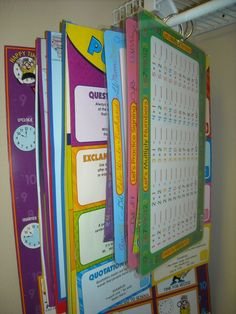 Kreative in Kindergarten: Tricks of the Trade- Poster Storage and Organization