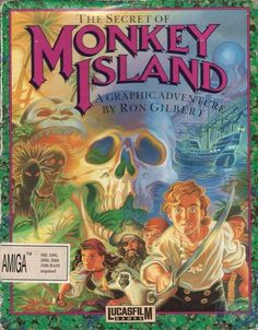 Secret of monkey island artwork ♥ Monkey Island, Street Fighter 2, Retro Video Games, Video Game Art, Retro Games, Vintage Games, Retro Vintage, Games Box, Old Games