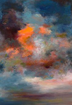 """Saatchi Online Artist: Rikka Ayasaki; Acrylic, Painting """"Passions, Twilight 7000"""""""