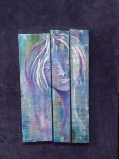 Original painting. Cuello largo by Pilu Tejedo