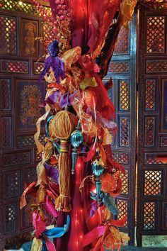 Festive #Holiday #Ribbon #Garland http://www.michaels.com/Ribbon-Garland/30375,default,pd.html?cgid=projects-seasonsandcelebrations-christmas=3