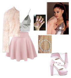 """""""scream queens ~ ariana grande outfit"""" by milky13 ❤ liked on Polyvore featuring T By Alexander Wang, RED Valentino and Boohoo"""