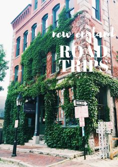 5 New England Road Trips:  Love this girls suggestions for day trips complete with coffee shops, viewpoints, and small hikes!