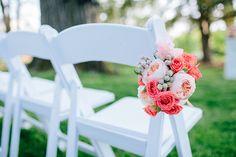 ceremony aisle marker | Rachel May #wedding
