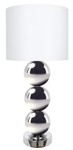 "Triple Run, Table Lamp 36"" H."
