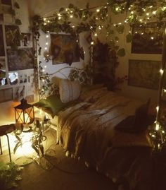 Space Themed Room Ideas, Bring The Stars Into Your Home ! - Space Themed Room Ideas, Bring The Stars Into Your Home ! Room Ideas Bedroom, Bedroom Themes, Diy Bedroom, Garden Bedroom, Forest Theme Bedrooms, Woodsy Bedroom, Hippie Bedroom Decor, Goth Bedroom, Whimsical Bedroom