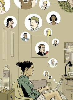 Adrian Tomine - Digital Illustration ...
