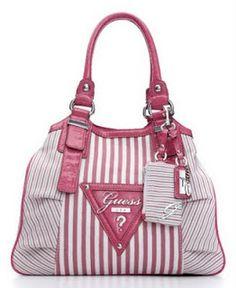 bee2150696c2 Guess Purse   Wallet Set Pink Gulfport Satchel Bag Shopper Handbag ...