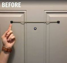 HA! After seeing what a mom does with this skinny rod, I will never look through a peephole the same way again!