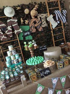 Safari Birthday Party Ideas | Photo 1 of 11 | Catch My Party