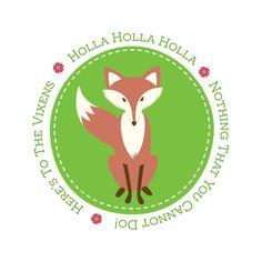 Holla Holla Vixen @ high res, transparent background - png