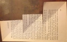 Anleitung: Weihnachtsbaum in die Seiten eines Buches falten   Notizbuchblog.de