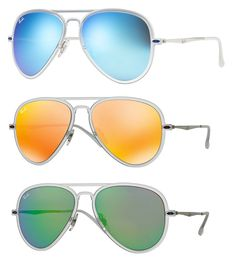 85425baa61158 The icon reinvents itself with the Aviator™ Light Ray. Inspired from Ray- Ban s