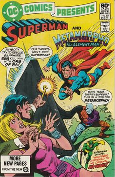 DC Comics Presents Vol. 4 No. 40  1981  Superman and Metamorpho, the Element Man by TheSamAntics