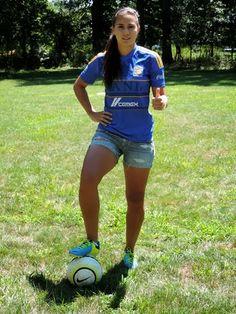 Nayeli Rangel, futbolista mexicana