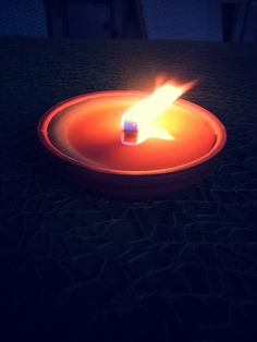 Candle. Light. Night. Flame. Candela. Luce. Notte. Fiamma. Photo by me, AngelaRizzo.
