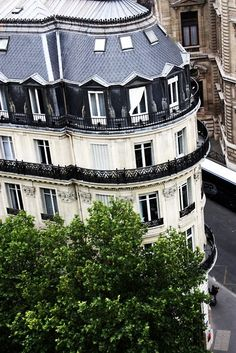 I have always wanted to sit and sip wine on one of these Parisian balconies.