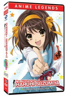 Melancholy of Haruhi Suzumiya DVD Complete Collection (Hyb) (Anime Legends) #RightStuf2013