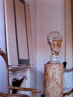 Cy Twombly's bedroom in Rome. They were taken by Horst P. Horst in 1966 and most appeared in Vogue's Book of Houses, Gardens, People published in Fall Home Decor, Autumn Home, Decoration, Art Decor, Cy Twombly, World Of Interiors, Modern Interiors, Beautiful Interiors, Interior Decorating