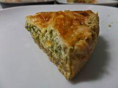 Reform életmód: Paleo brokkolis pite Spanakopita, Veggie Recipes, Veggie Meals, Quiche, Veggies, Food And Drink, Breakfast, Healthy, Ethnic Recipes