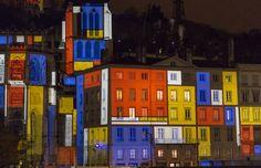Piet Mondrian - Fëtes dez Lumières - Lyon