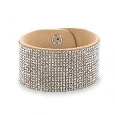 Elegant Clear Crystal Hollywood Fashion Bracelet