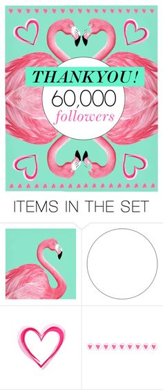 """""""60,000 followers!!! Thankyou my Polyvore friends!!"""" by groove-muffin ❤ liked on Polyvore featuring art, thankyou and polyvorecommunity"""