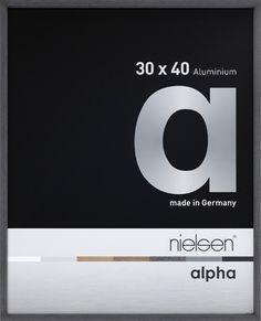 alpha | Aluminiumrahmen | Aluminiumrahmen | Bilderrahmen | Produkte | nielsen - Bilderrahmen für Ihr schönes Zuhause