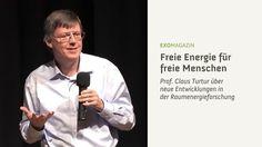 Freie Energie für freie Menschen - Claus Turtur (Clip)