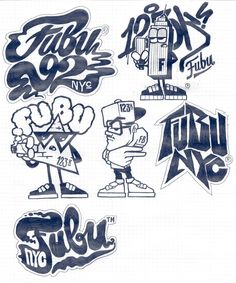 FUBU x 123KLAN by 123KLAN , via Behance
