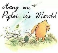 Pooh and piglet blustery day