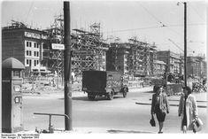 1953 Stalinallee Ecke Warschauerstrasse