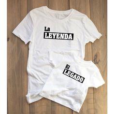 La Leyenda El Legado / La Leyenda el legado shirts / día del padre / día del padre shirts / Padre e hijo / Papitio / Papá / El Jefe /