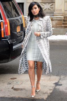 Kim Kardashian in Soho on Feb. 10, 2015, in New York City.