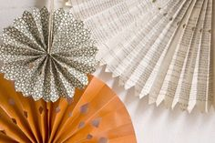 BHDLN DIY paper wheel decor backdrop