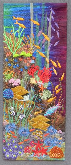 Linda Steele Quilt Blog: Life on the Reef