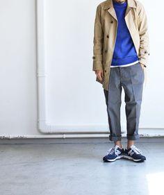 those pants. that blue.