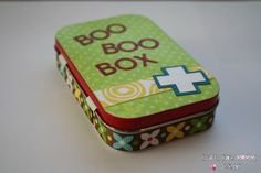 Crafty Chic Mommy: Tips for Tots; Super smart and cute ideas for travel first aid kit