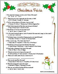 Christmas Trivia Games, Xmas Games, Printable Christmas Games, Christmas Games For Family, Holiday Party Games, Christmas Crafts For Adults, Christmas Words, Christmas Gift Baskets, Christmas Activities
