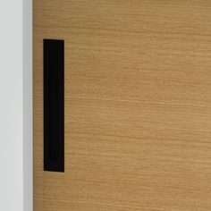 Milos - Flush Pull Handle - 252mm X 42mm - Matte Black (Each) Front Door Handles, Black Door Handles, Black Doors, Matte Black, Bathroom, Washroom, Black Front Doors, Full Bath, Black Door